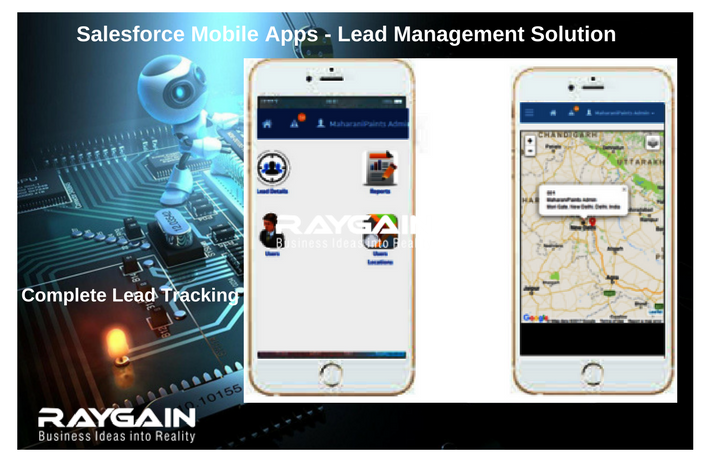 Salesforce Mobile Apps - Lead Management Solution
