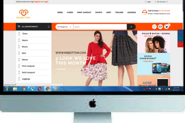 E-COMMERCE – MSBOTTOM