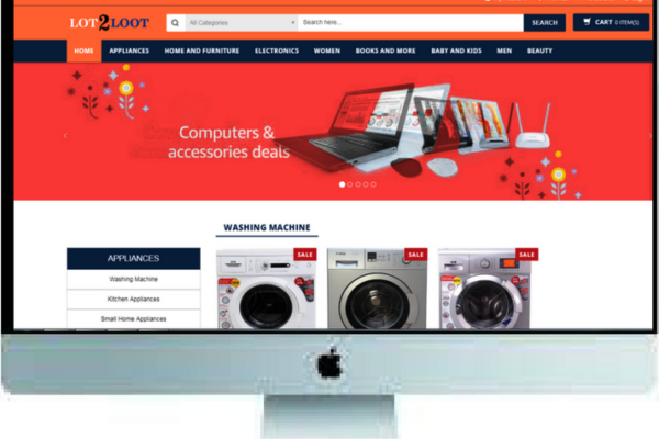 E-COMMERCE – LOT2LOOT